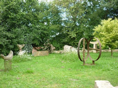 Skulpturen P P Medzech 09