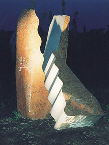 Skulpturen P P Medzech 13