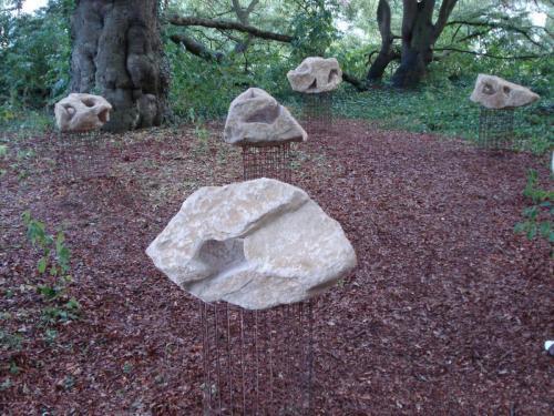 Skulpturen P P Medzech 15